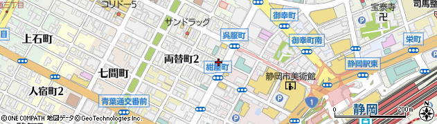 クラブ竜宮城周辺の地図
