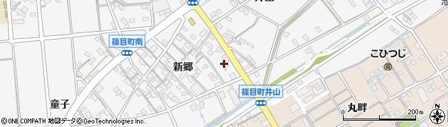 シャトレーゼ工場直売店安城店周辺の地図