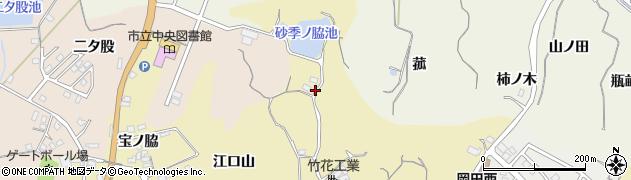 愛知県知多市岡田(砂季ノ脇)周辺の地図
