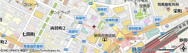 うるし周辺の地図