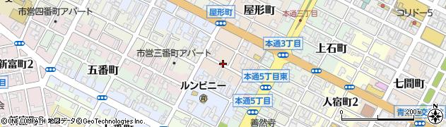 静岡県静岡市葵区大工町周辺の地図