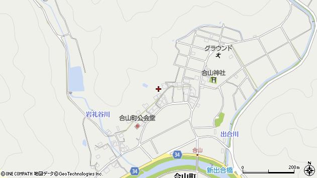 〒677-0061 兵庫県西脇市合山町の地図