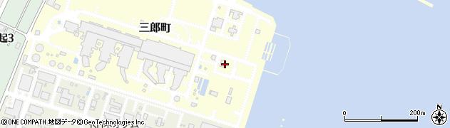 三重県四日市市三郎町周辺の地図