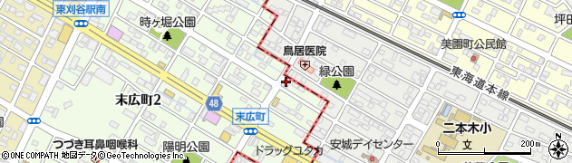 比呂子周辺の地図