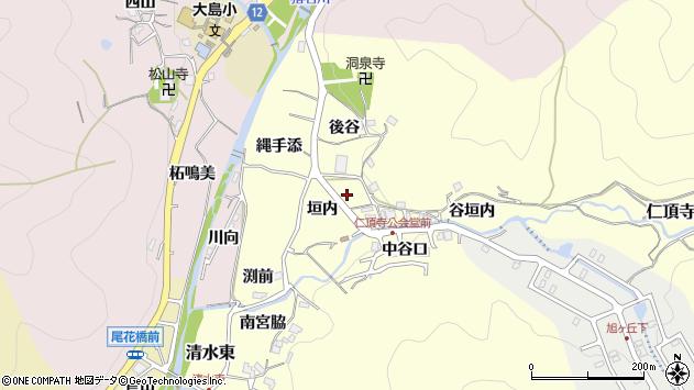 〒666-0211 兵庫県川辺郡猪名川町仁頂寺の地図