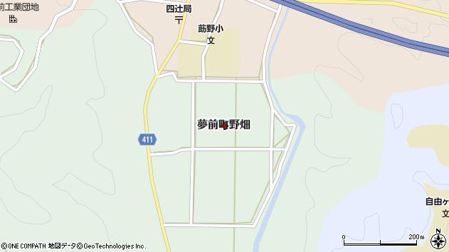 〒671-2137 兵庫県姫路市夢前町野畑の地図