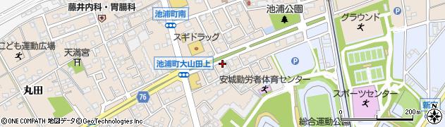 栄養亭周辺の地図