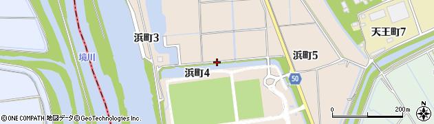 愛知県刈谷市浜町周辺の地図