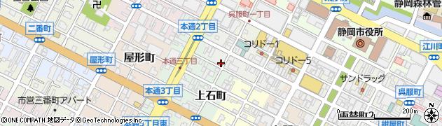 SHAKE周辺の地図