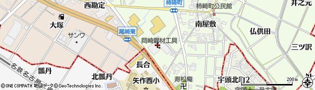 愛知県安城市柿碕町(猪ノ背)周辺の地図