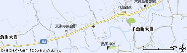 千葉県南房総市千倉町大貫周辺の地図