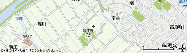 愛知県刈谷市小垣江町(北竜)周辺の地図