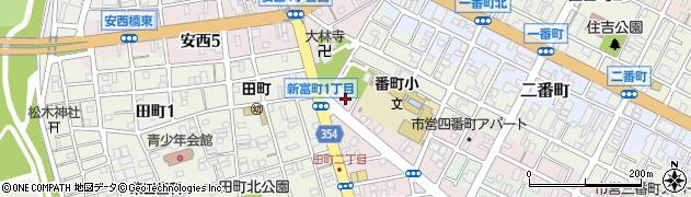 鳳マンション周辺の地図