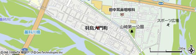 静岡県静岡市葵区羽鳥大門町周辺の地図
