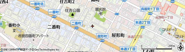 静岡県静岡市葵区一番町周辺の地図