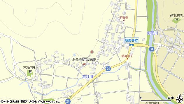 〒677-0067 兵庫県西脇市明楽寺町の地図