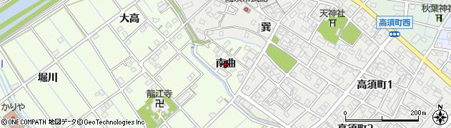 愛知県刈谷市小垣江町(南曲)周辺の地図