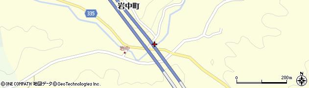 愛知県岡崎市岩中町(岩倉)周辺の地図