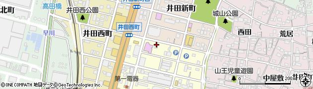アントレ周辺の地図