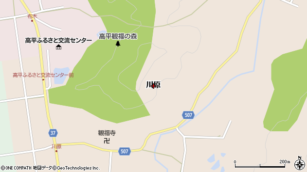 〒669-1403 兵庫県三田市川原の地図