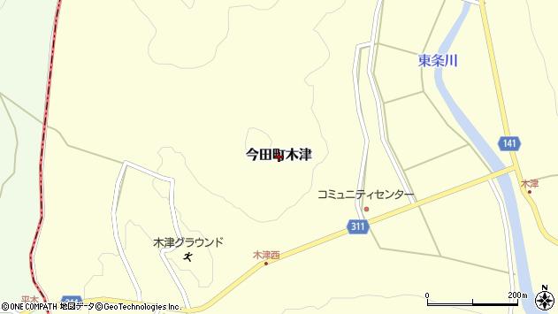 〒669-2145 兵庫県丹波篠山市今田町木津の地図