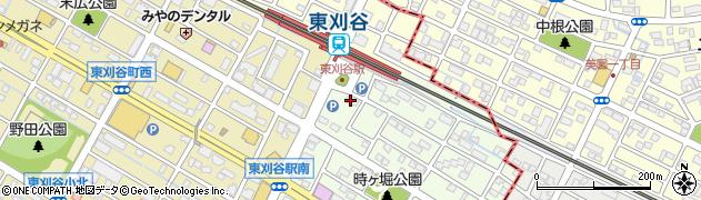 昇乃や周辺の地図