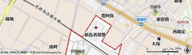 愛知県岡崎市宇頭町(新長者屋敷)周辺の地図
