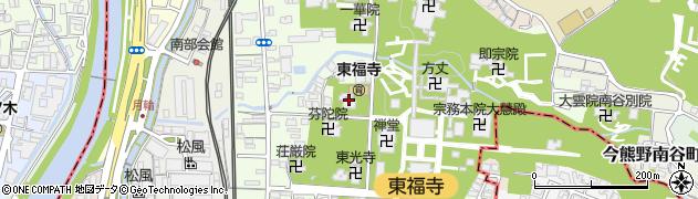 天得院周辺の地図