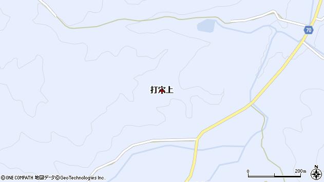 〒709-3705 岡山県久米郡美咲町打穴上の地図