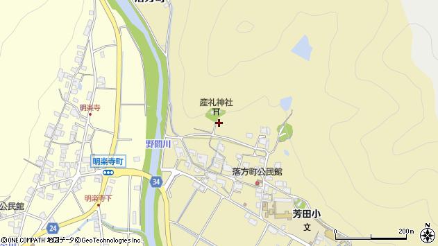 〒677-0068 兵庫県西脇市落方町の地図