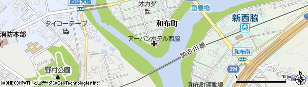 アーバンホテル西脇周辺の地図