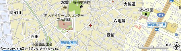 愛知県刈谷市野田町(森前)周辺の地図