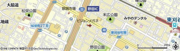 みそ膳周辺の地図