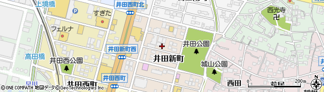 Party周辺の地図