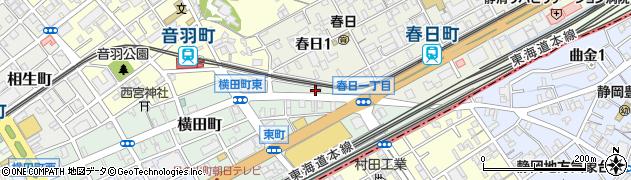 静岡アジア言語センター(NPO法人)周辺の地図