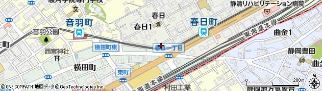 静岡測量株式会社周辺の地図