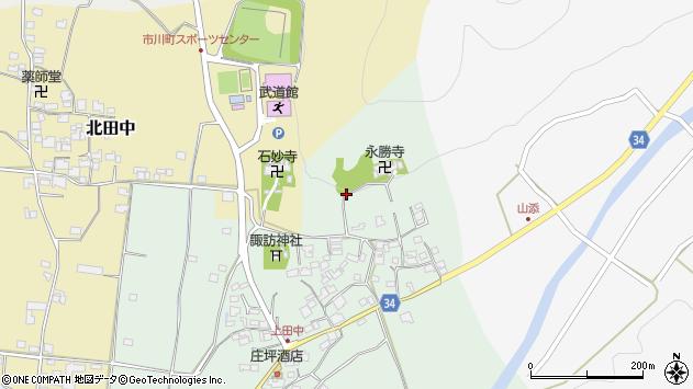 〒679-2311 兵庫県神崎郡市川町上田中の地図