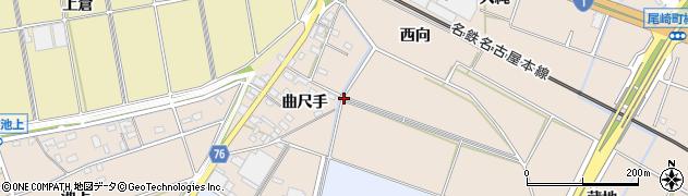 愛知県安城市池浦町(曲尺手)周辺の地図