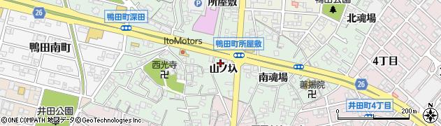 ズー周辺の地図