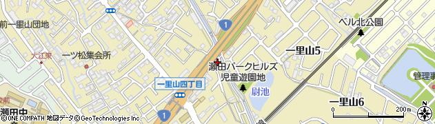 滋賀県大津市一里山周辺の地図