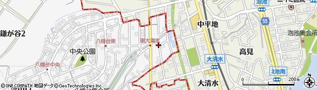 愛知県知多市八幡(東大清水)周辺の地図