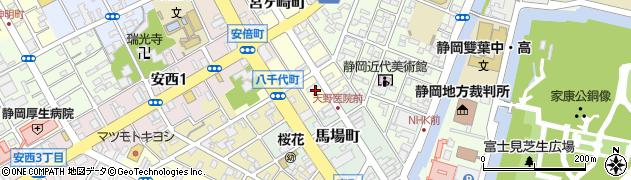 ホンマ写真スタジオ周辺の地図