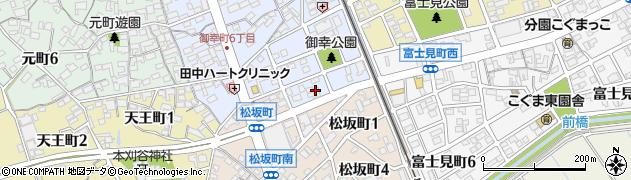 ベア周辺の地図