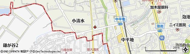ファミリーソング周辺の地図