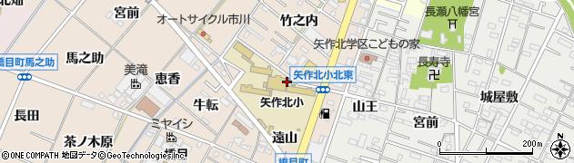 愛知県岡崎市橋目町(西遠山)周辺の地図