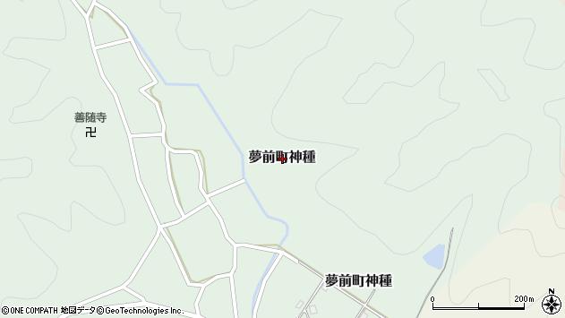 〒671-2105 兵庫県姫路市夢前町神種の地図