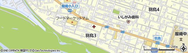 第八十三福一丸 静岡羽鳥店周辺の地図