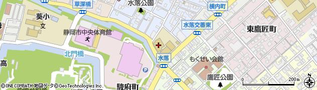 常葉大学附属常葉高等学校周辺の地図