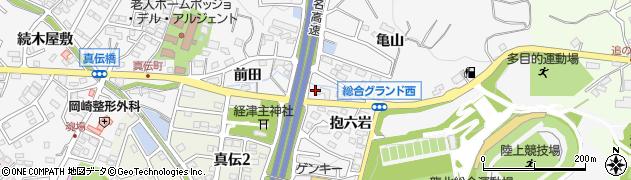 居酒屋酒楽久周辺の地図