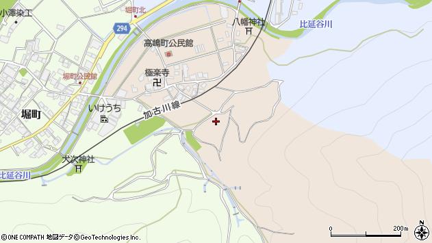 〒677-0041 兵庫県西脇市高嶋町の地図